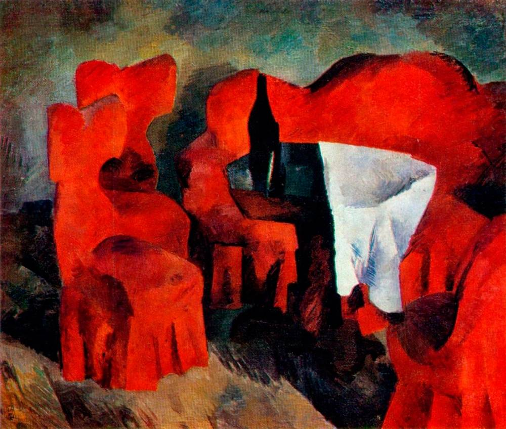Роберт Фальк, «Красная мебель»