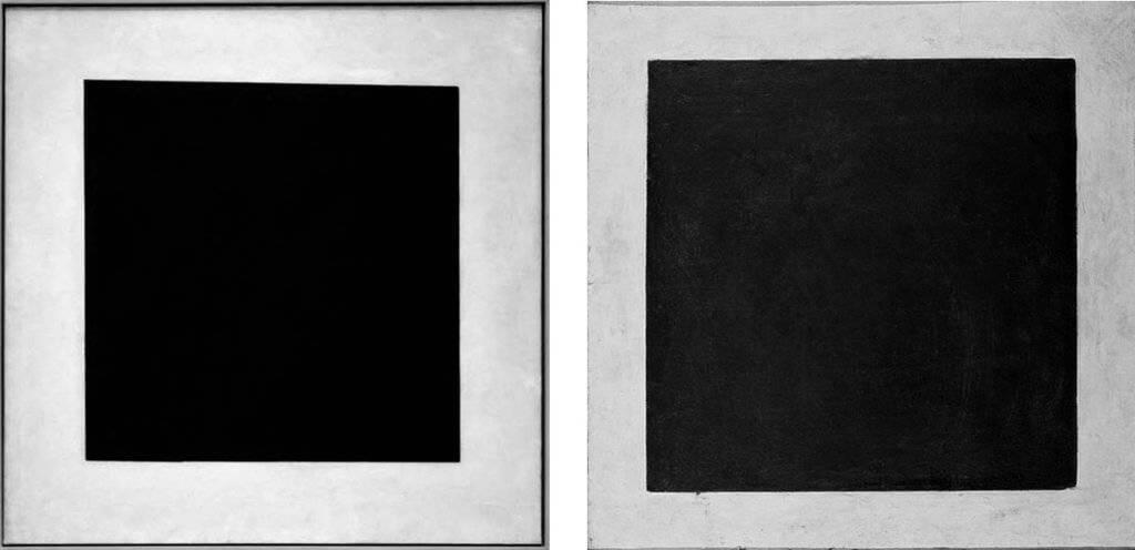 """Малевич. 'Черный квадрат"""". Повторения. 1929, 1032"""