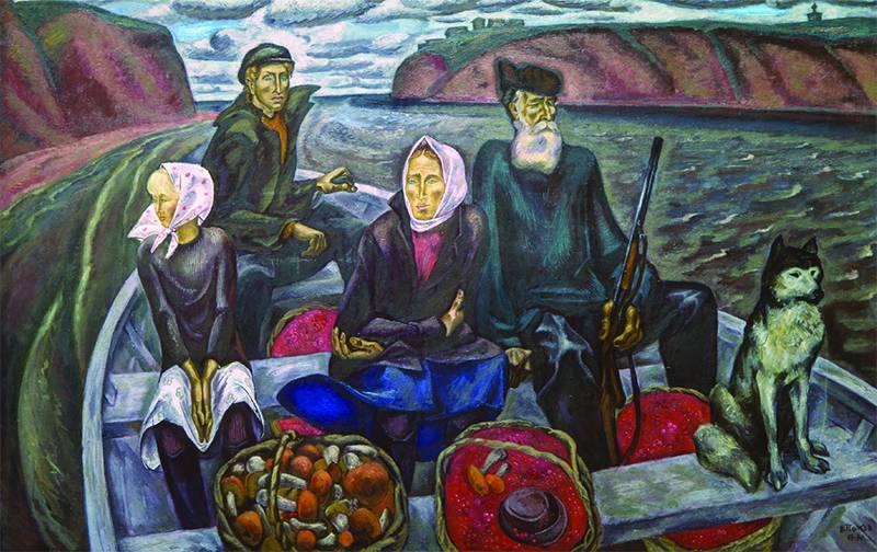 Виктор Попков, «Сентябрь на Мезени»
