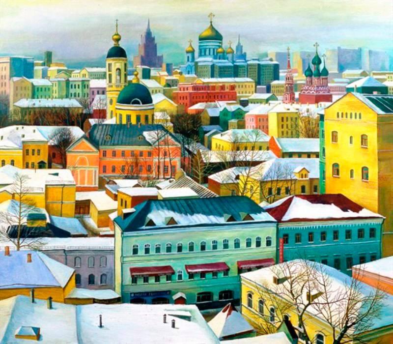 Татьяна Назаренко, «Зима в Москве»